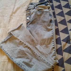 Wild Fable Acid Wash Skinny Stretch Jeans